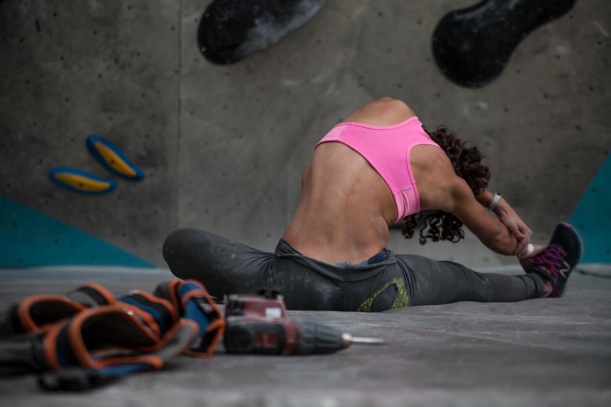 Shirleys Noriega escaladora