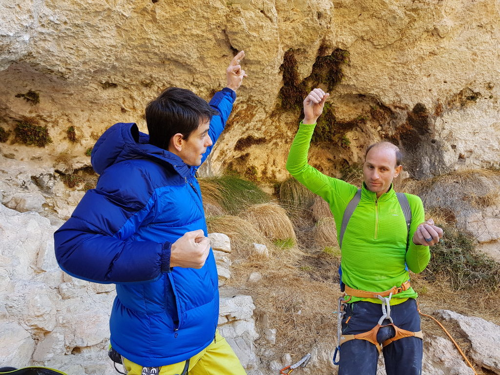 Gerard Rull y Cédric Lachat