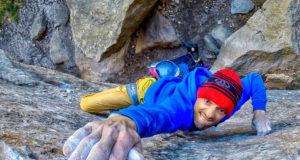 Luis Alfonso escalando en Cuenca