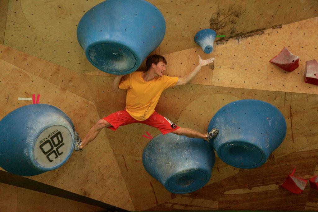 Alexey Rubtsov entrenando