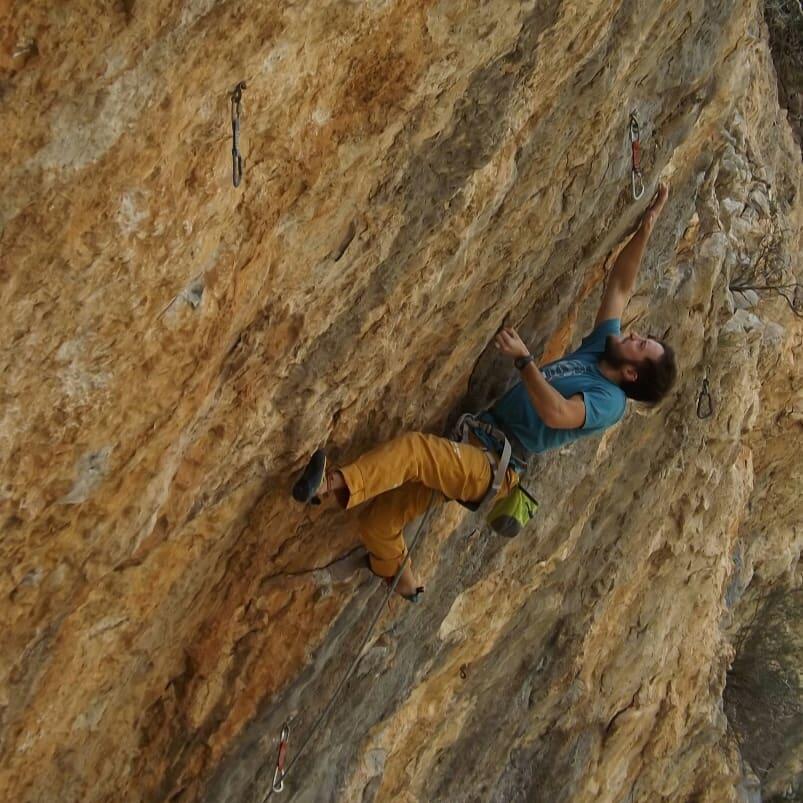 Jonathan Guadalcázar escalador