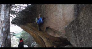 boulder en La Pedriza