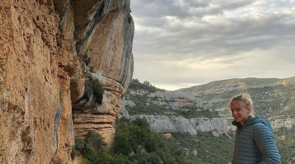 Manon Hily escaladora