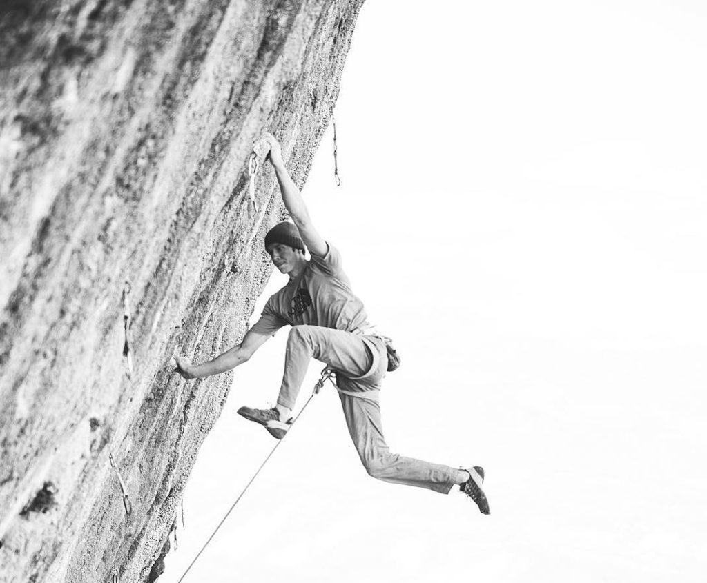 Matty Hong escalador