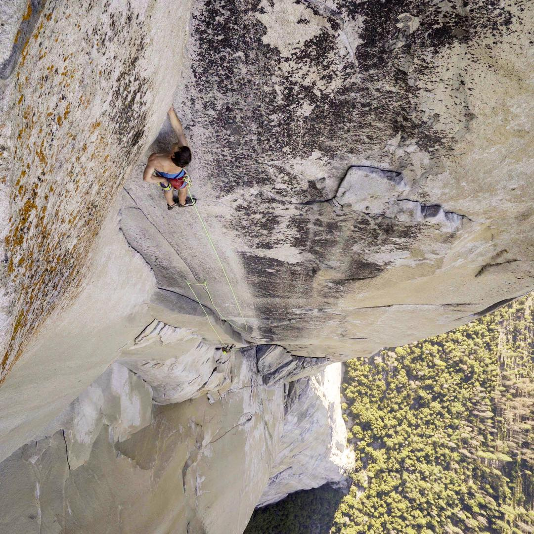 Alex Honnold escalando 'The Nose'