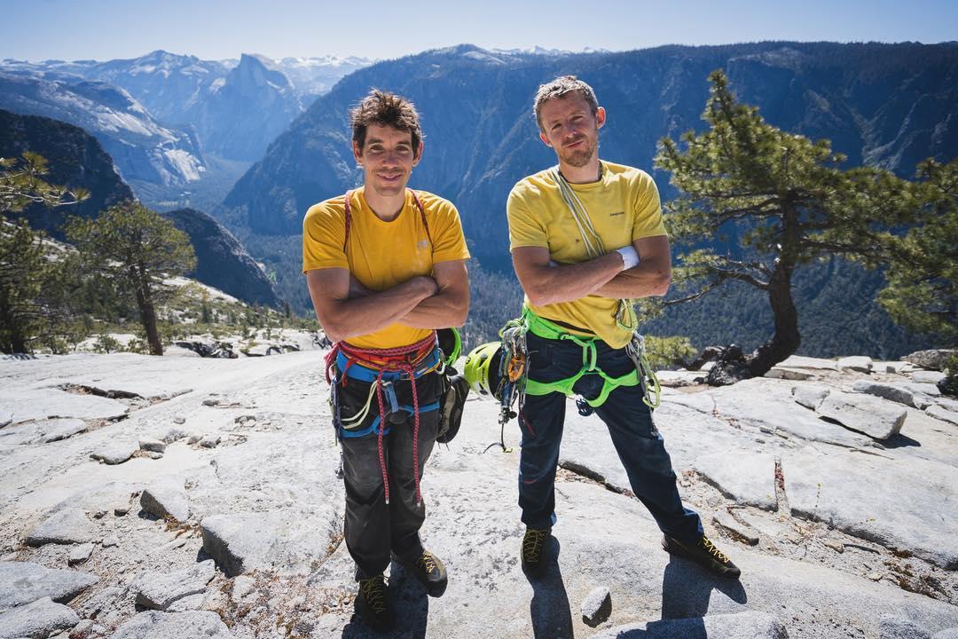 Alex Honnold y Tommy Caldwell en el El Capitan
