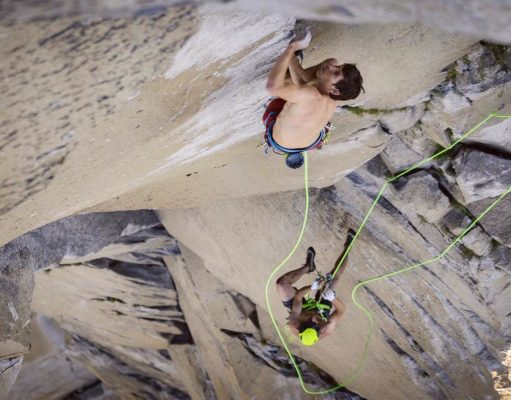 Alex Honnold y Tommy Caldwell en 'The Nose'