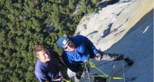 Jason Wells y Tim Klein escaladores