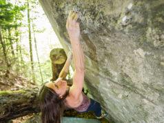 Kaddi Lehmann 8C boulder