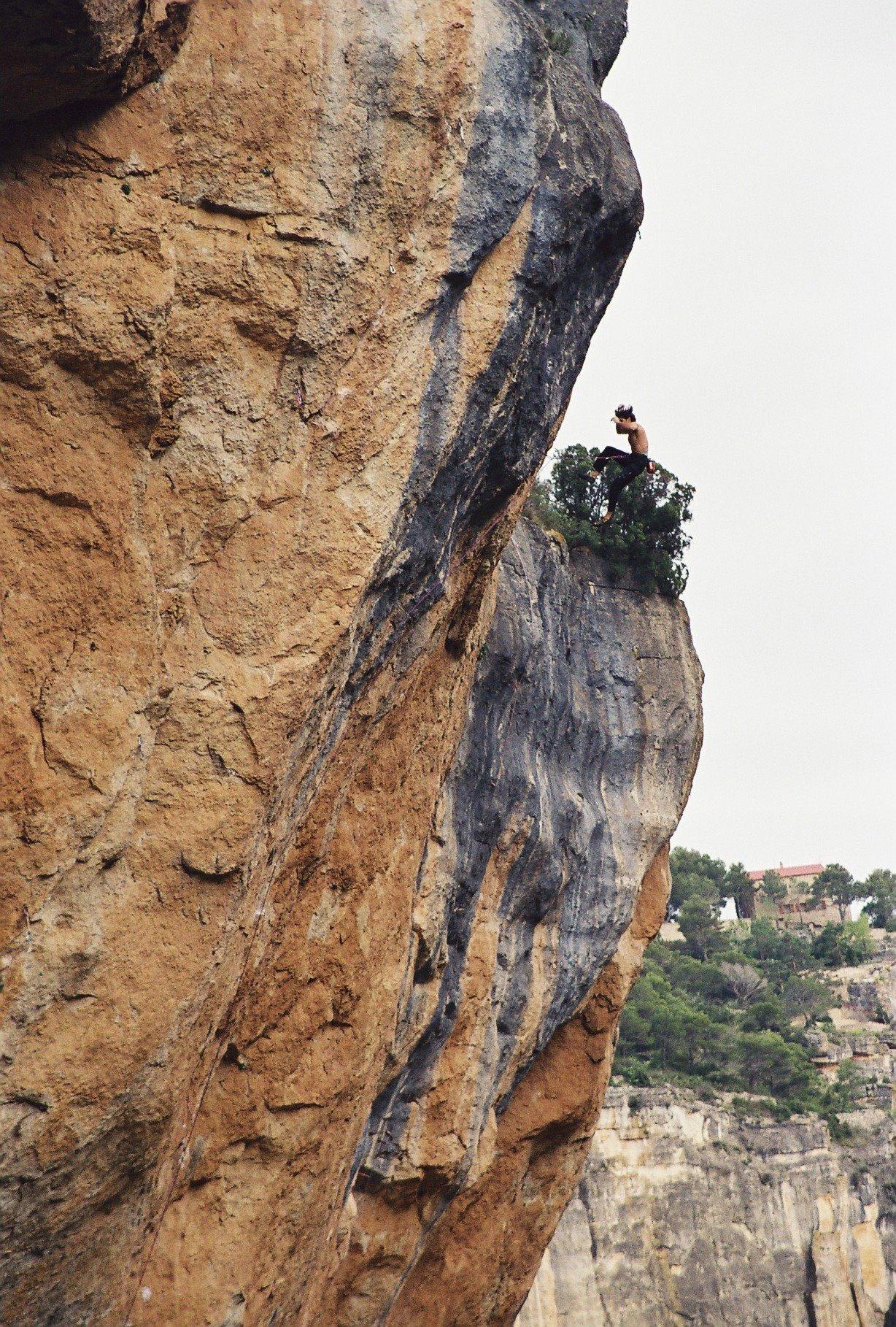 Dani Andrada en 'La Rambla' 9a+