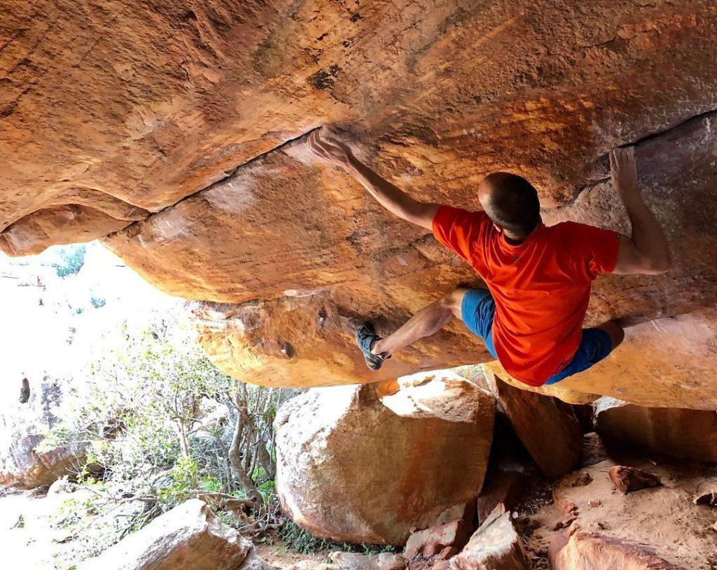 Martin Mobraten escalador
