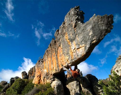 'Rhino' boulder Rocklands