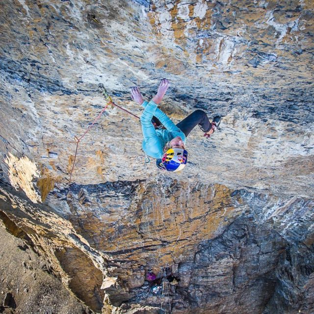 Sasha DiGiulian en 'Castles in the Sky' 8b+