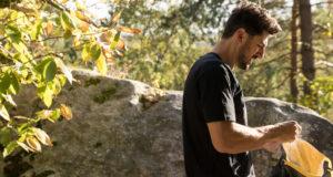 Jon Glassberg en Fontainebleau