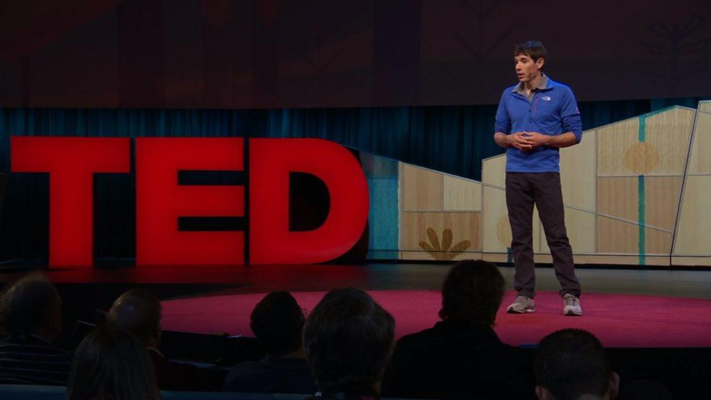 Alex Honnold conferencia en TED