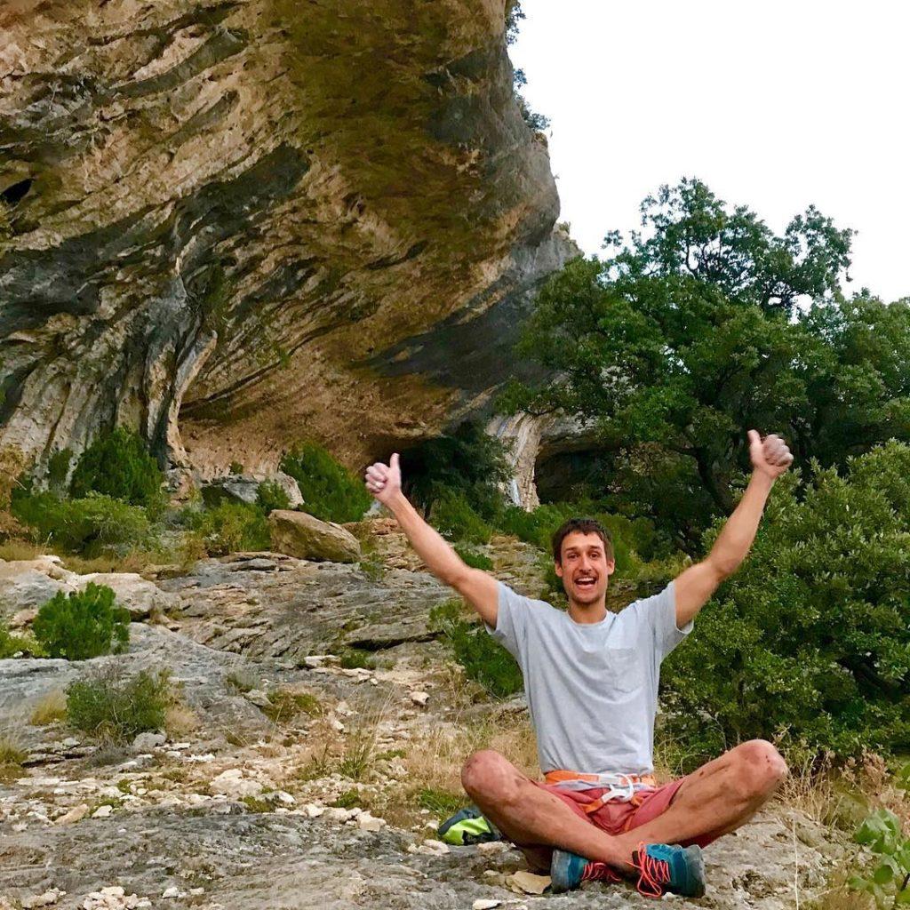 David Firnenburg escalador