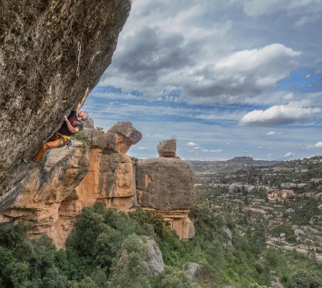 Felipe Camargo escalador brasileño