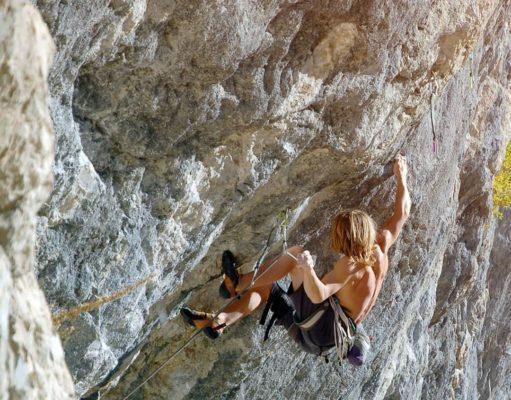 Illya Bakhmet escalador