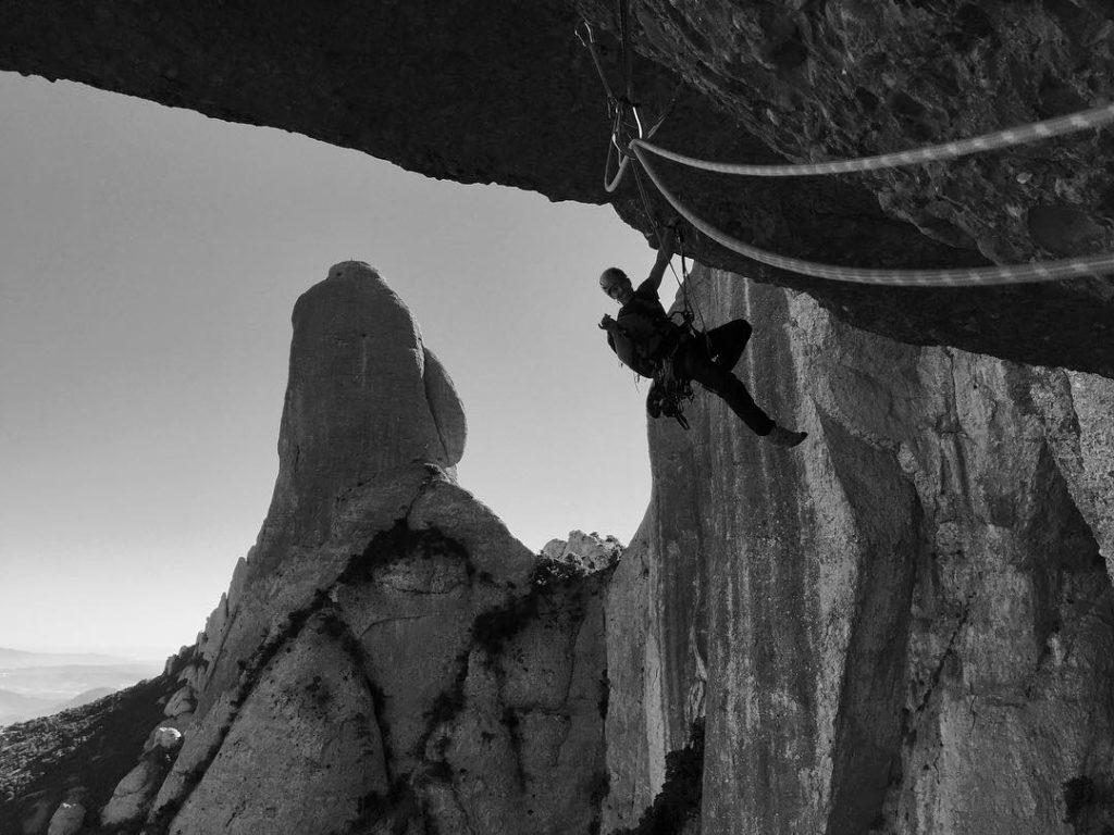 Santiago Valerga guía de escalada