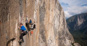 Tommy Caldwell en The Dawn Wall