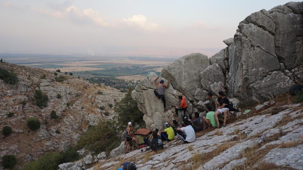 boulder en Líbano
