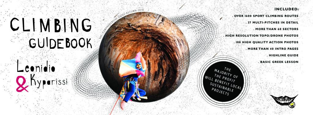 Leonidio climbing guide cover