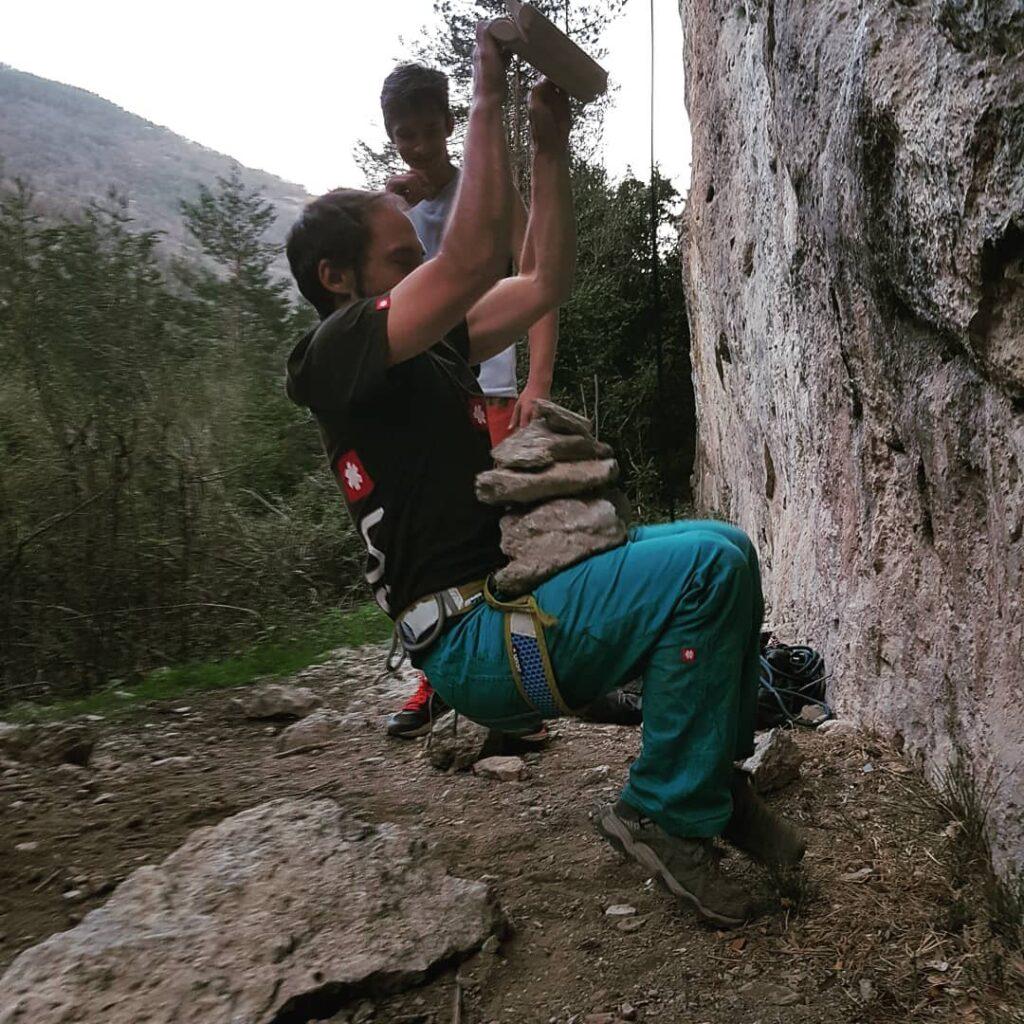 Edgar Casanovas guía de escalada