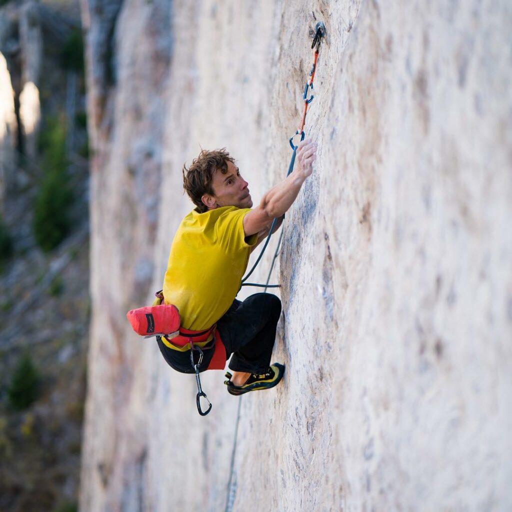 Jonathan Siegrist escalador profesional