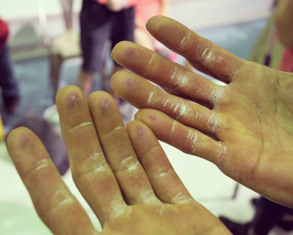 Carlos Catari manos