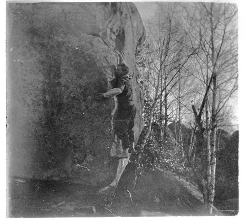 Pierre Allain boulder en Fontainebleau