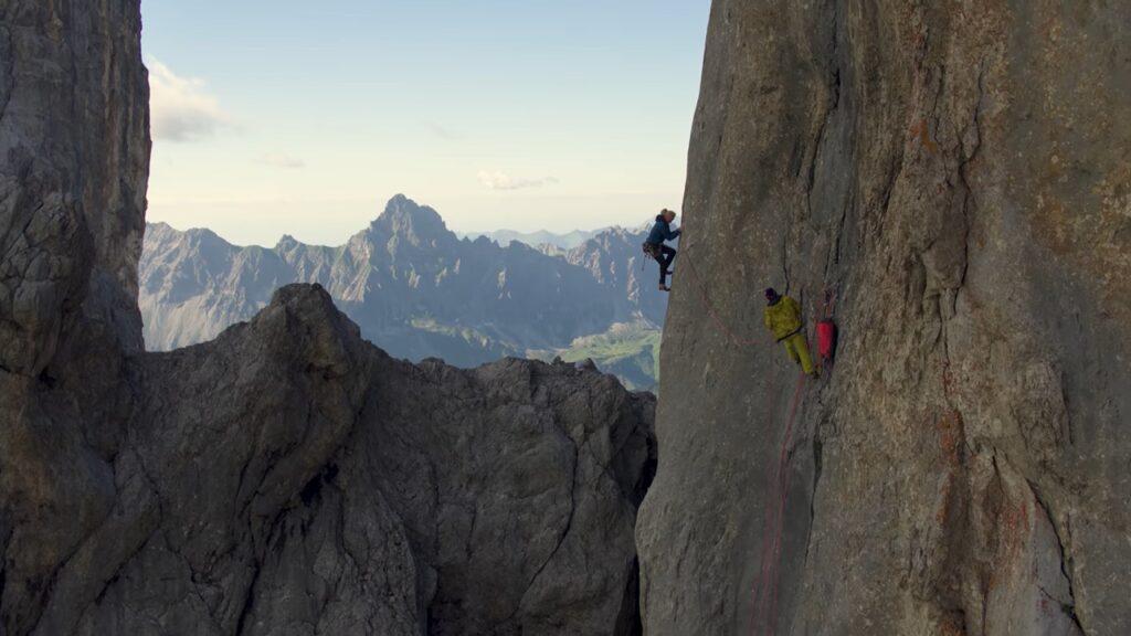 Beat Kammerlander escalando Kampfzone