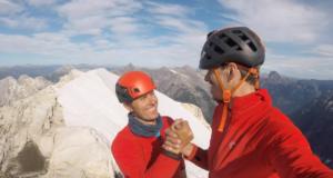 Albert Segura y Agustín Pelletieri escaladores
