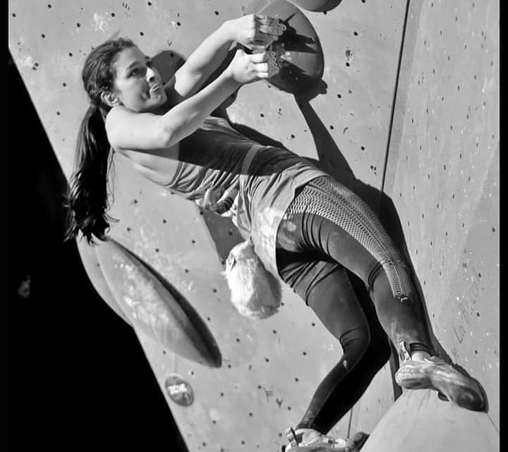 Hélène Janicot escaladora y route setter