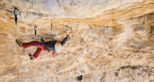 Jonathan Siegrist en All You Can Eat 9a+