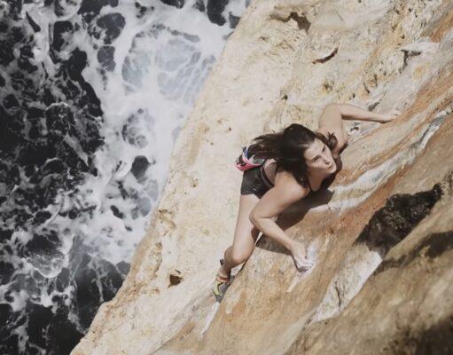 Julija Kruder escaladora
