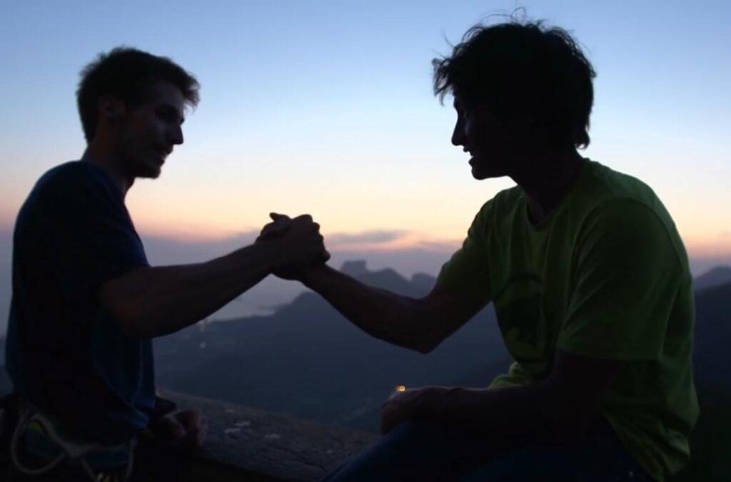 Felipe Camargo y David Lama