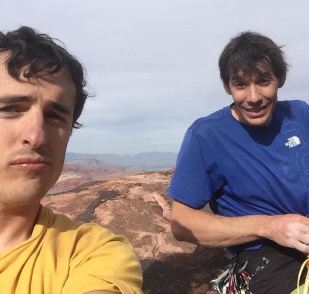 Alex Honnold y Brad Gobright