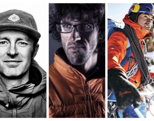 David Lama, Hansjörg Auer y Jess Roskelley