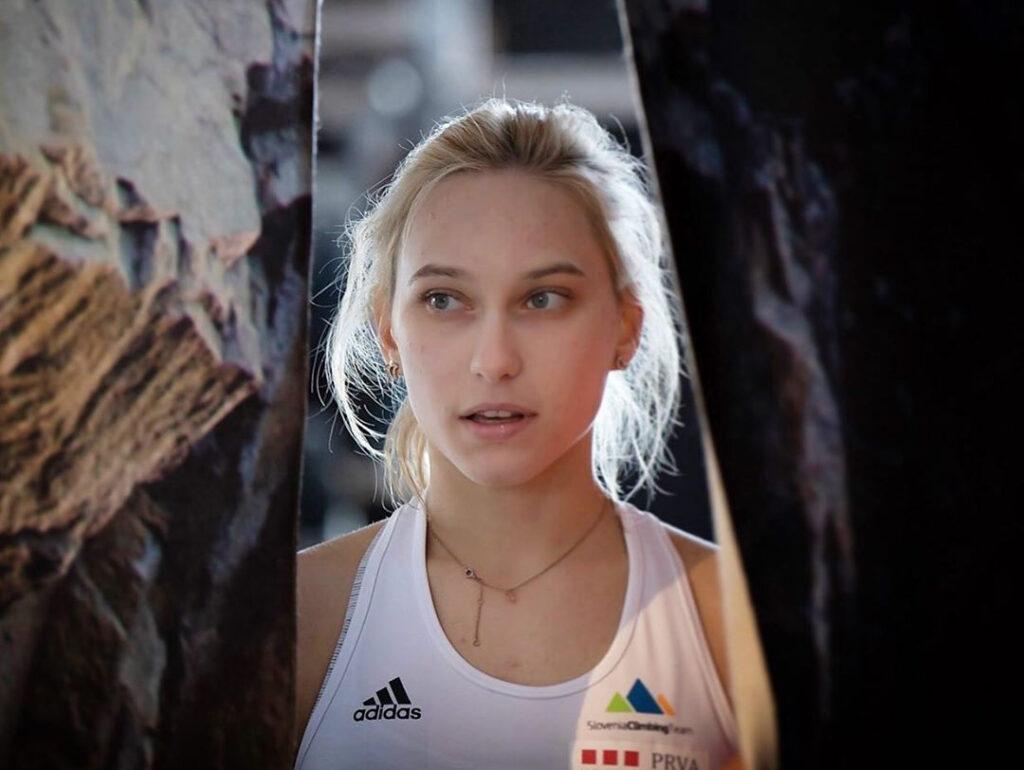Janja Garnbret escaladora