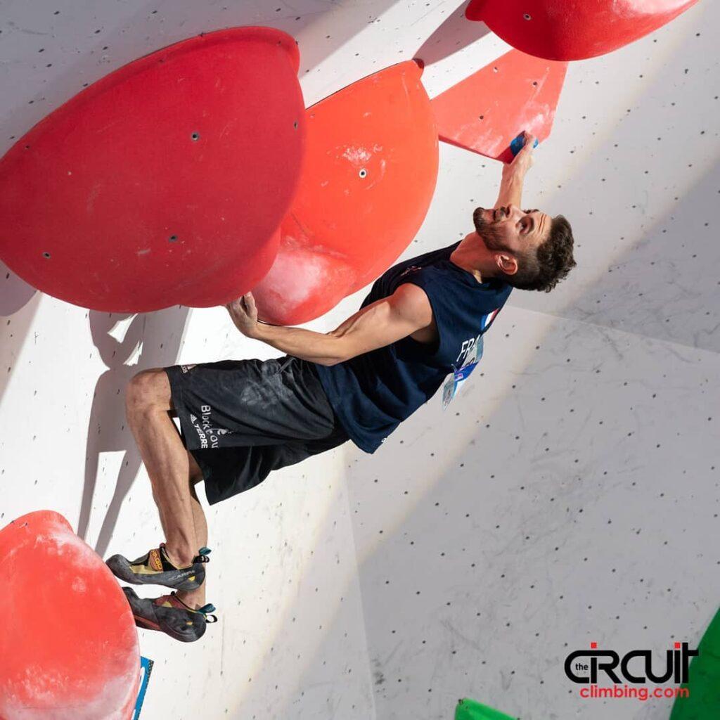 Manu Cornu escalador francés
