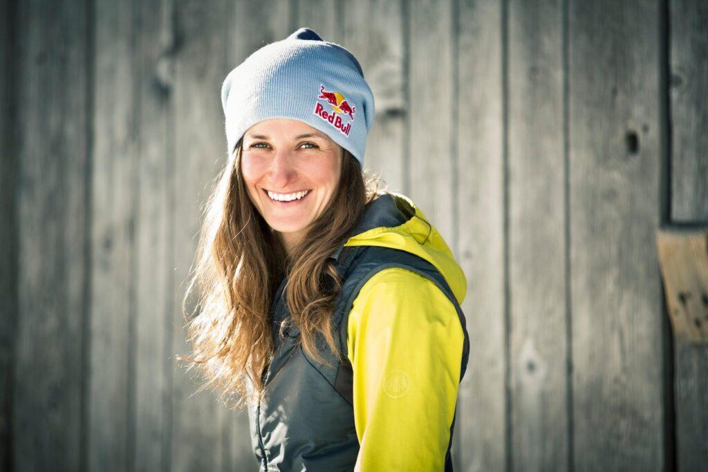 Nadine Wallner esquiadora y escaladora