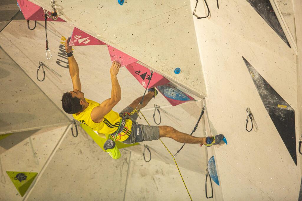 Javi Cano escalador