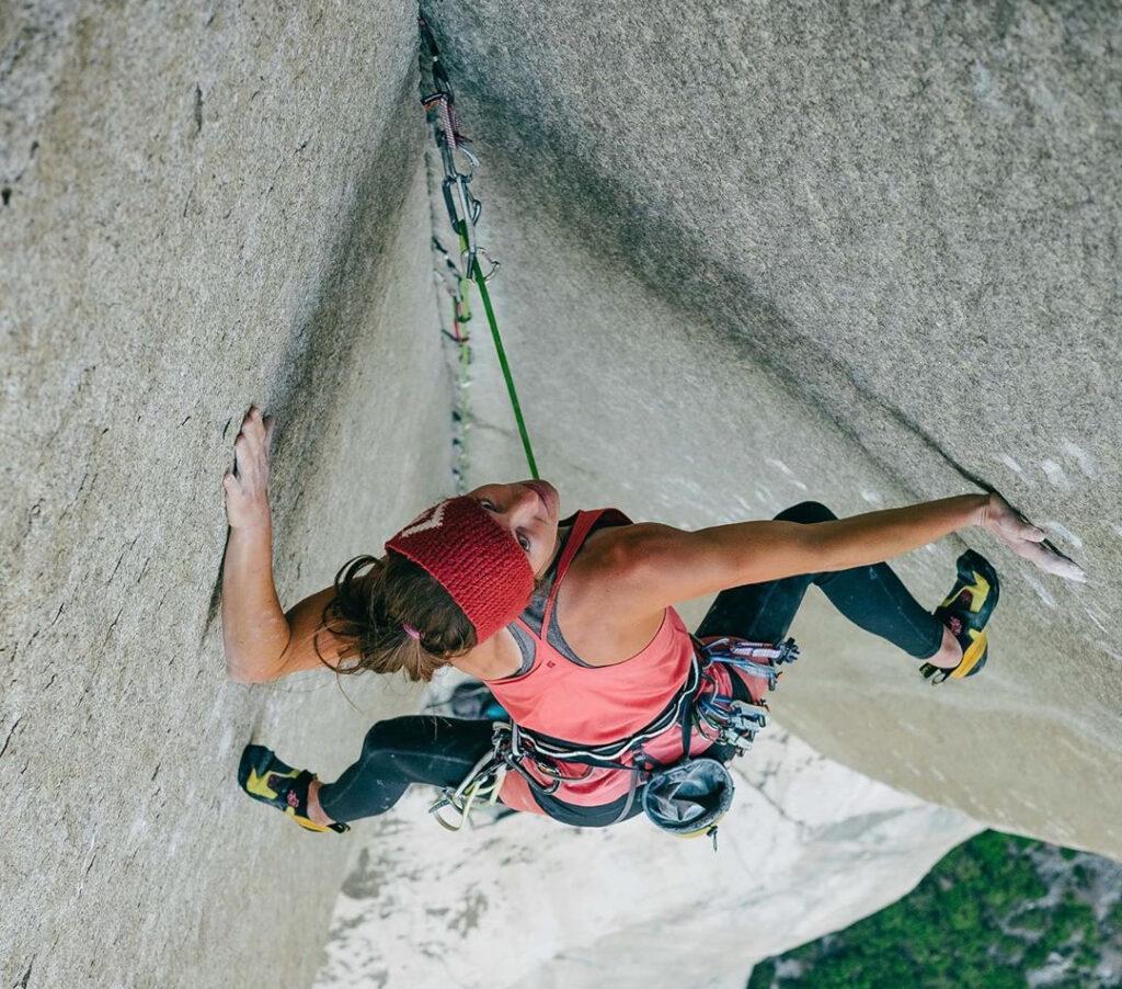 Babsi Zangerl en 'PreMuir Wall'