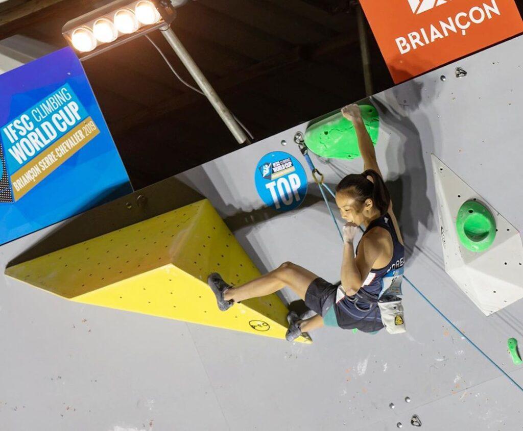 Chaehyun Seo escaladora