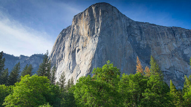El Capitan, big wall en Yosemite