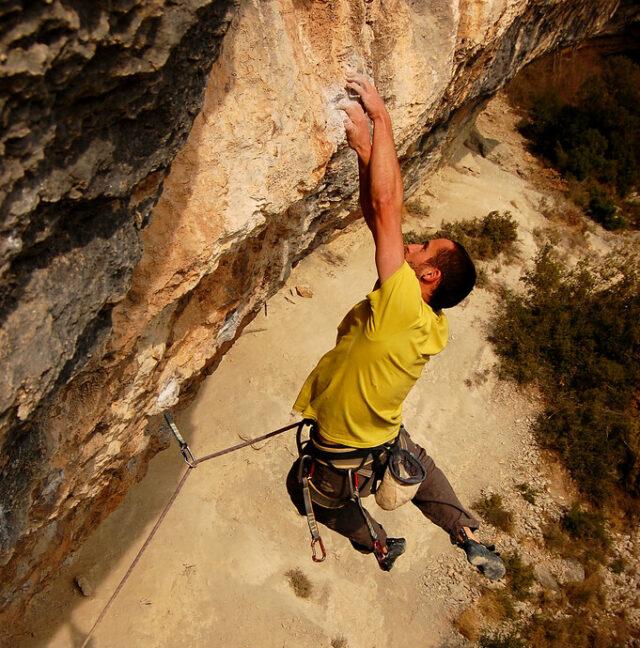 Calders escuela de escalada