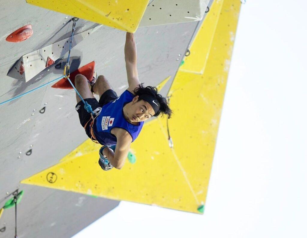 Hiroto Shimizu escalador japonés