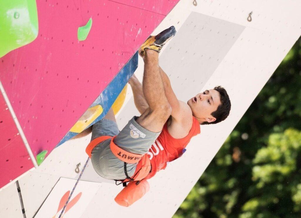 Sascha Lehmann escalador suizo