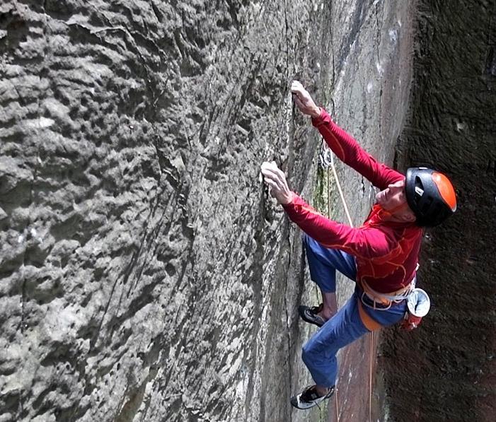 Steve McClure en GreatNess Wall E10 7a