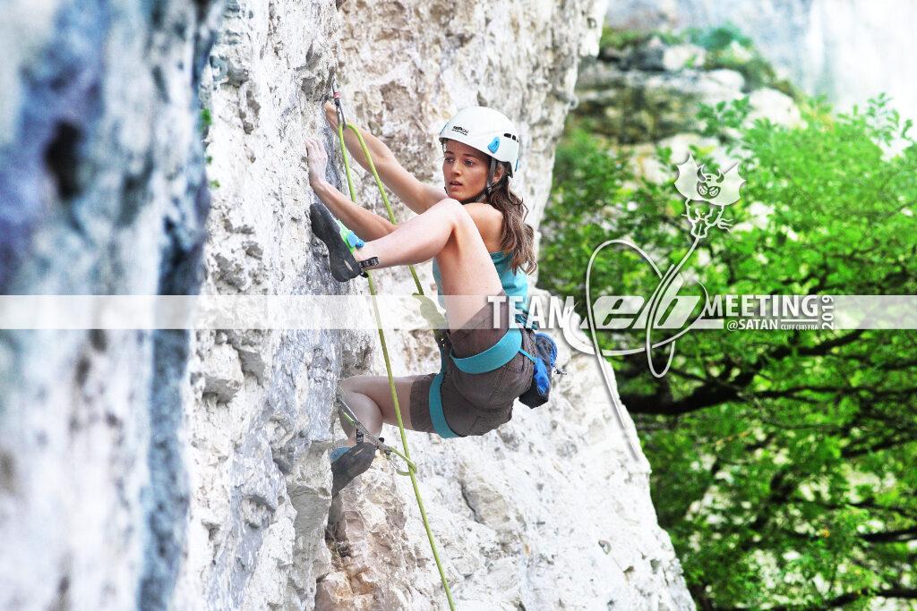 Prudence Morgan-Wood escaladora